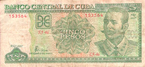 Photo of 5 Cuban Peso